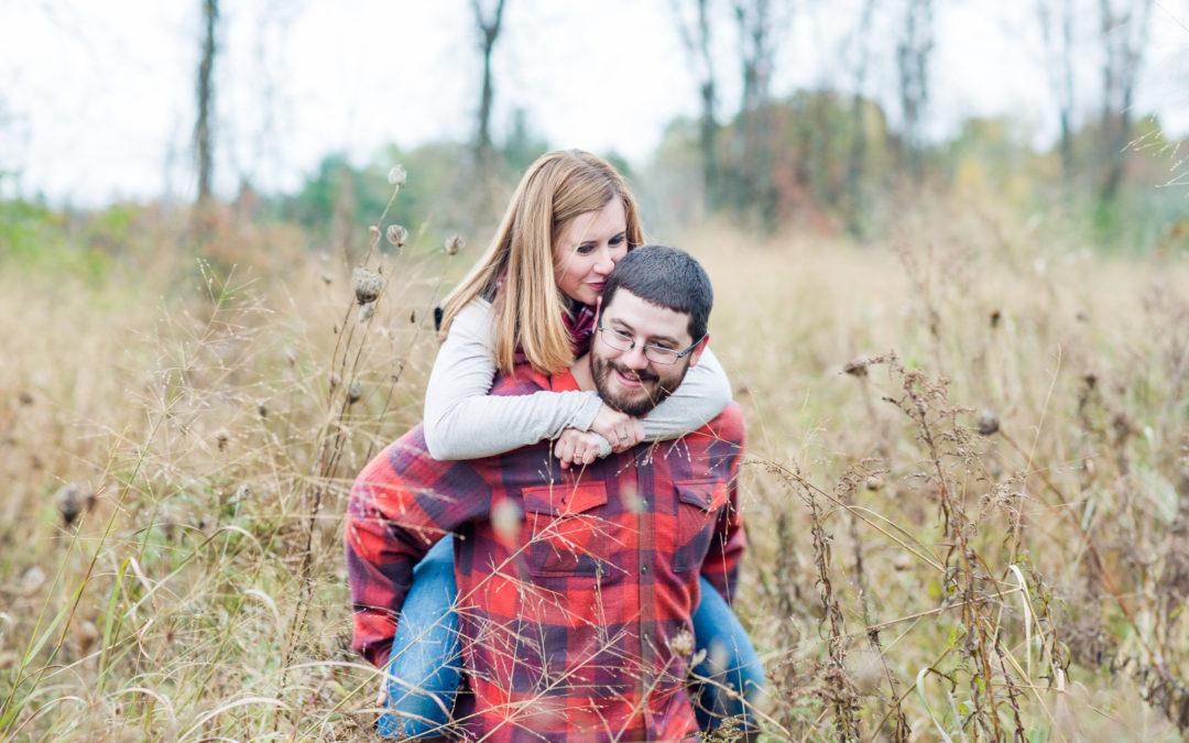Sarah + Zach | Ken Cuddeback Trail Engagement