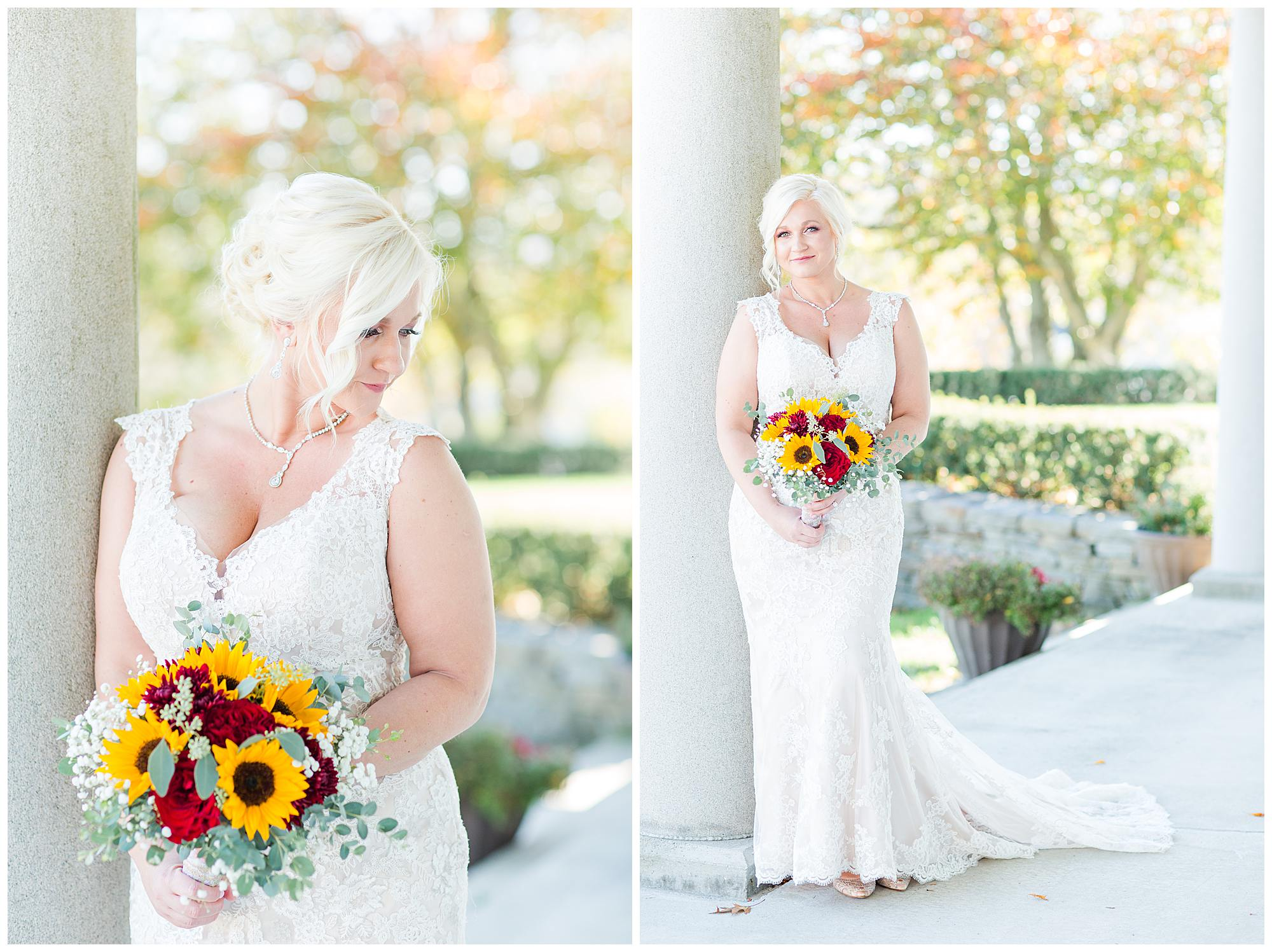 Massachusetts burgundy fall wedding