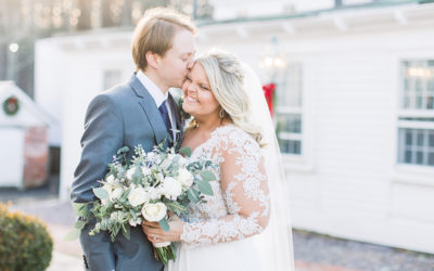 Colleen + Jonathan | Winter Wedding